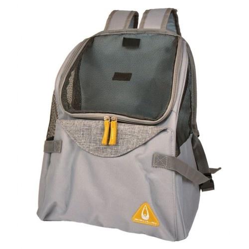 Transportín mochila para mascotas color Gris