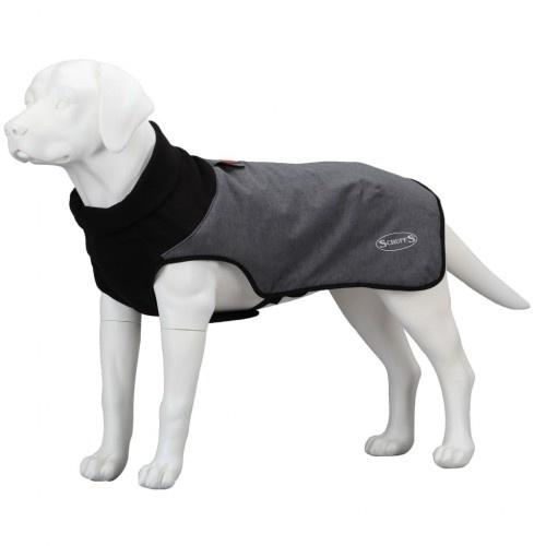 Abrigo térmico para perros color Gris