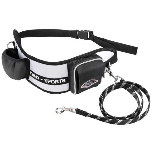 Cinturón de cadera con correa para perros color Blanco