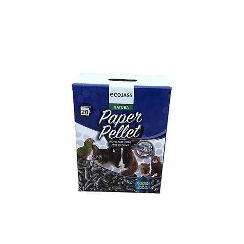 Fibra de papel pellet para roedores olor Talco