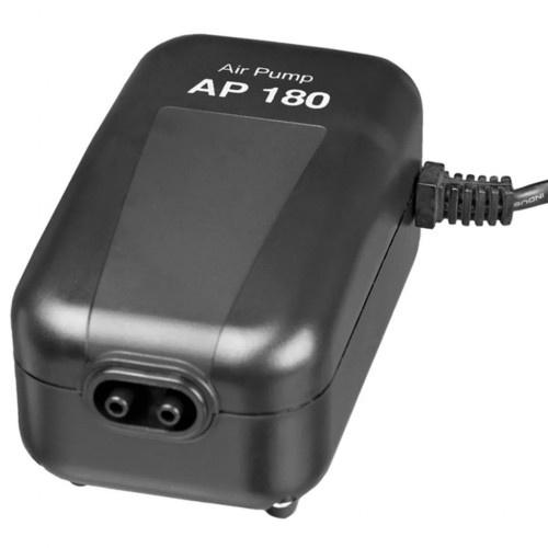 Bomba de aire AP 180 para acuarios color Negro