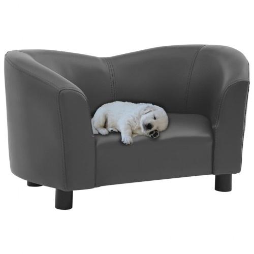 Sofá de diseño para perros color Gris