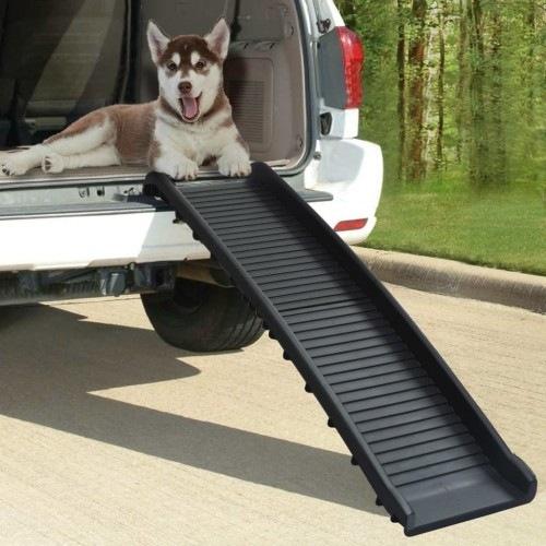 Rampa de acceso para perros color Negro