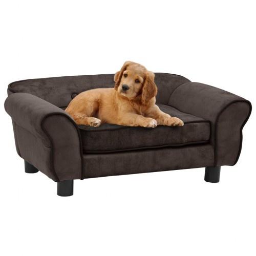 Sofá elegante para perros color Marrón