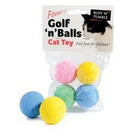 Paquete de pelotas Golf'n'balls para gatos color Variado