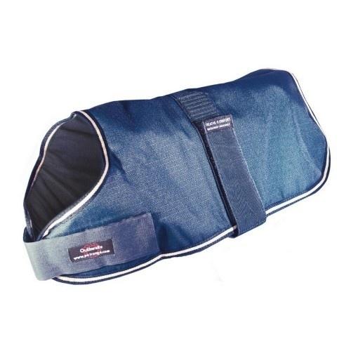 Abrigo acolchado e impermeable color Azul Real