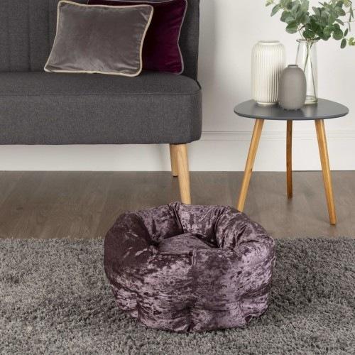 Cama Donut para mascotas color Púrpura