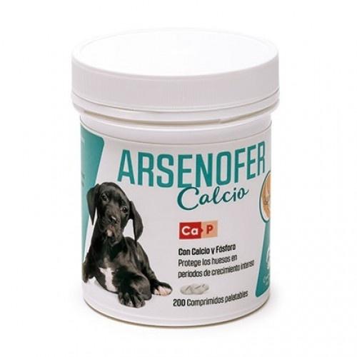 Arsenofer con calcio y fósforo para cachorros