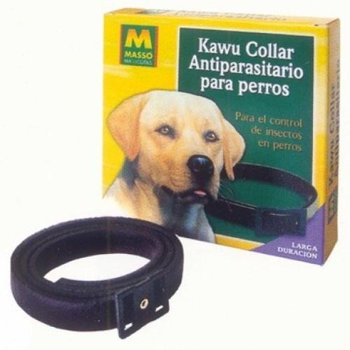 Collar antiparasitario para perros color Negro