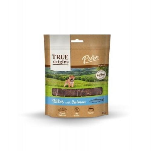 Snack True Origins Pure Puppy Bocaditos con Salmón