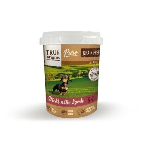 True Origins Pure Barritas Grain Free con Cordero