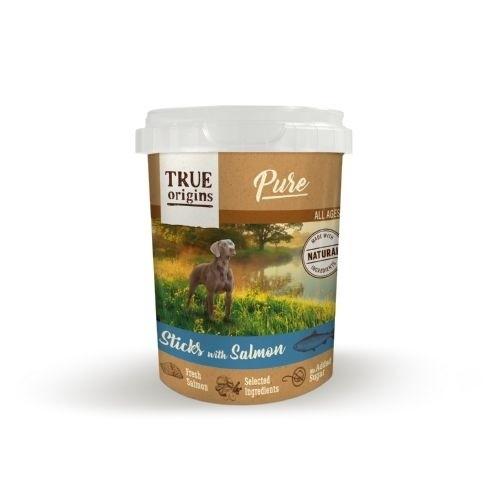Snack True Origins Pure Barritas con Salmón