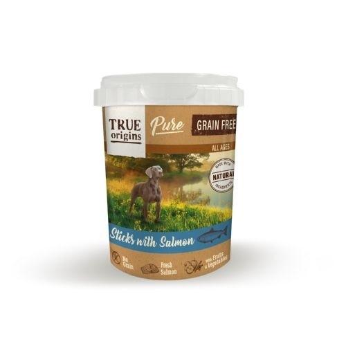True Origins Pure Barritas Grain Free con Salmón