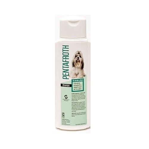Champú Pentafroth para perros olor Té verde y Aloe vera
