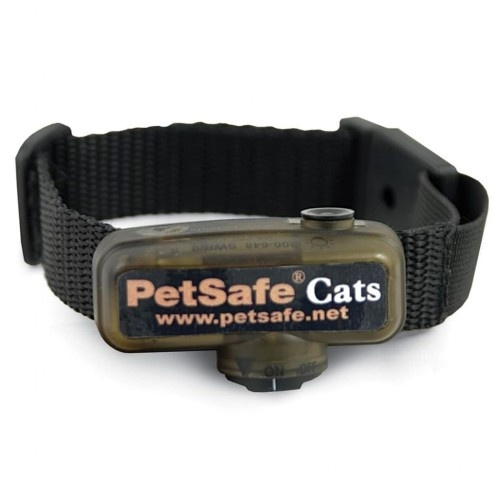 Collar receptor de adiestramiento para gatos color Negro