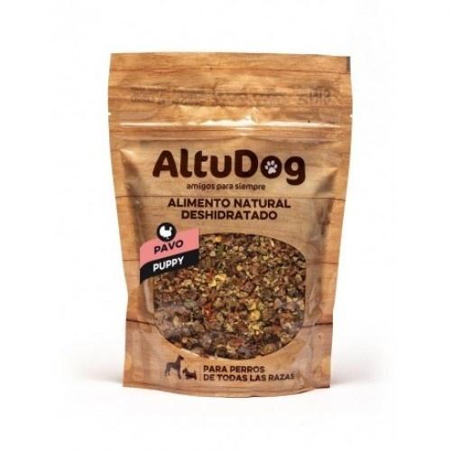 Menú deshidratado para cachorros sabor Pavo
