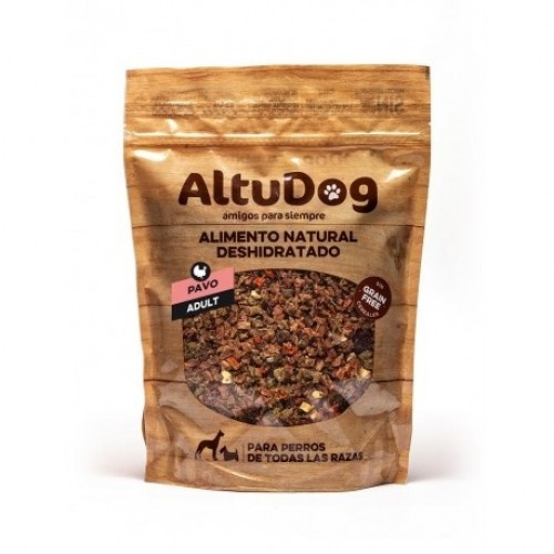 Menú sin cereales para perros sabor Pavo