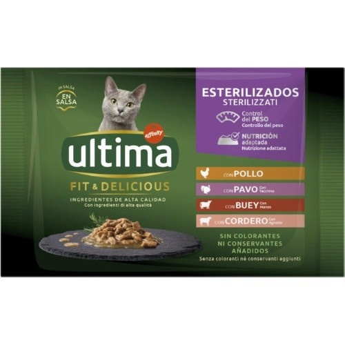Ultima Fit & Delicious Multipack Carne