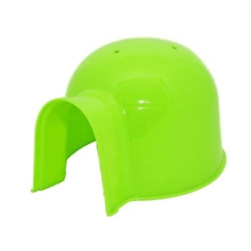 Casa Igloo para roedores color Verde