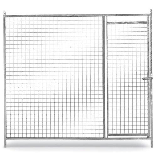 Panel frontal de malla eco con puerta