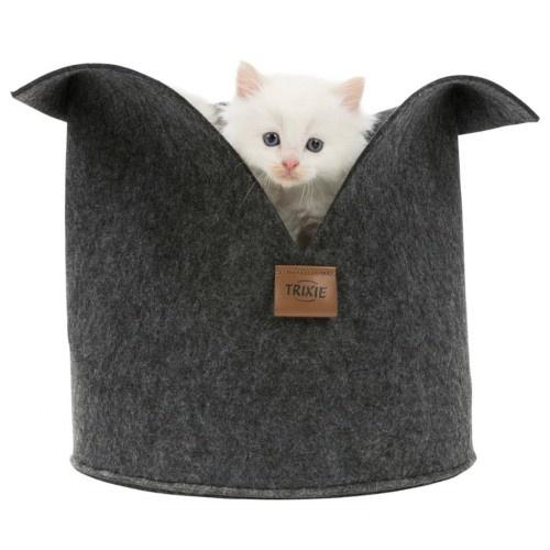Cama de diseño para gatos color Antracita