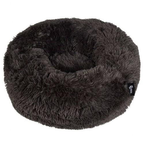 Cama redonda para mascotas color Gris Oscuro