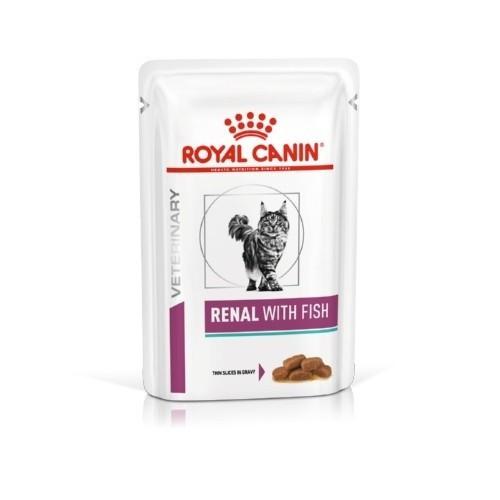 Royal Canin Feline Renal Pescado Húmedo