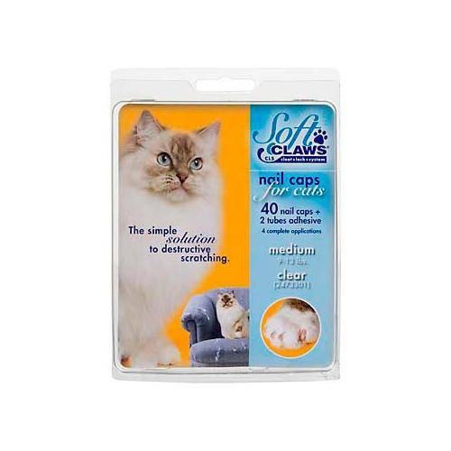 Uñas postizas para gatos que arañan