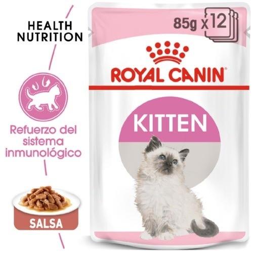 Royal Canin Kitten comida húmeda en salsa para gatitos