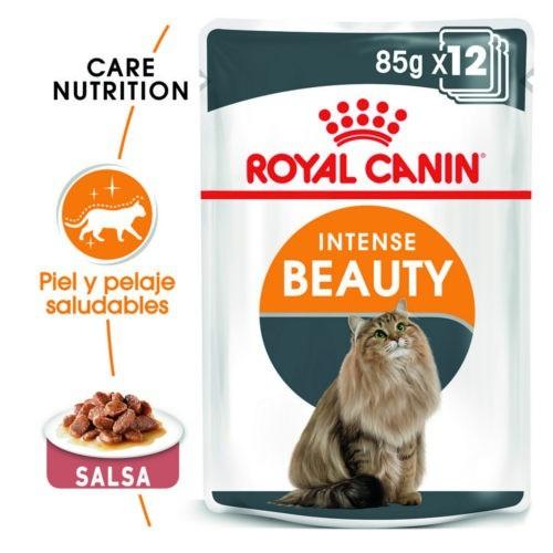 Royal Canin Intense Beauty comida húmeda para gato adulto en salsa