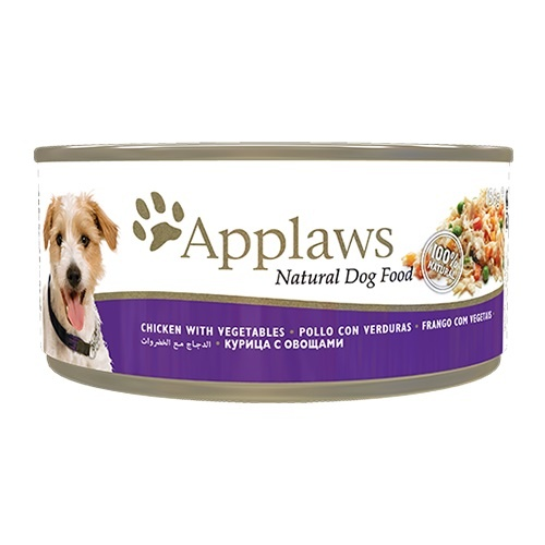 Applaws - Alimento fresco de pollo en latas para perros