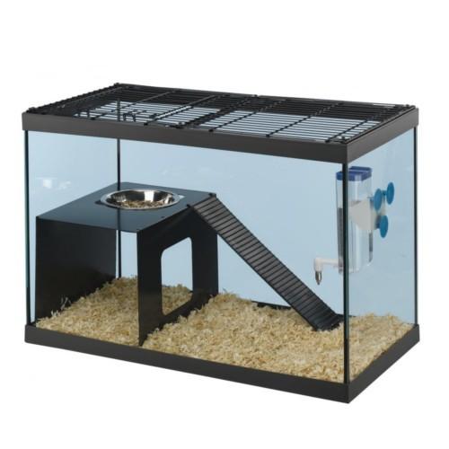 Tanque de cristal para ratas y ratones