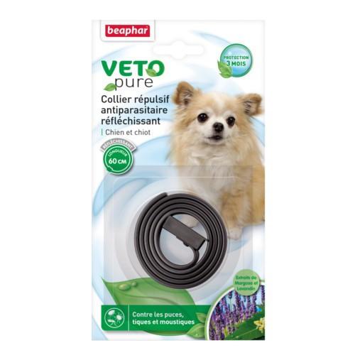 Collar repelente de insectos reflectante para perros Beaphar