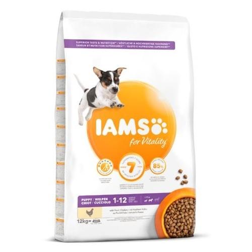 IAMS Proactive para cachorros razas pequeñas y medianas