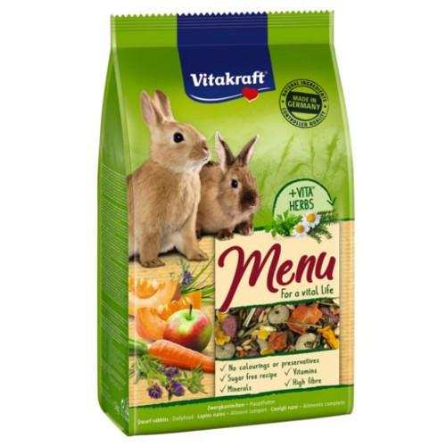 Alimento para Conejos enanos Vitakraft Menú Vital