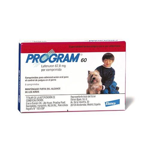 Antipulgas en comprimidos para perros Program
