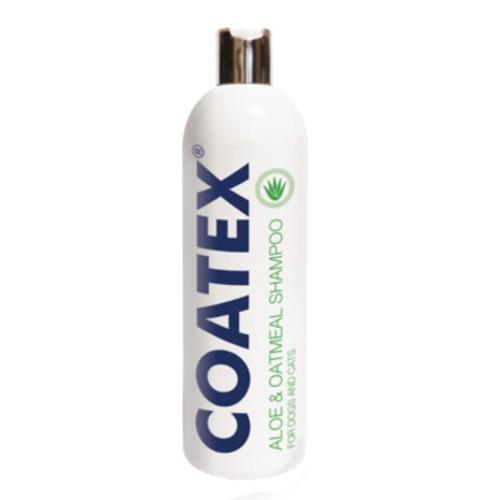 Coatex champú aloe y avena para pieles secas perros y gatos