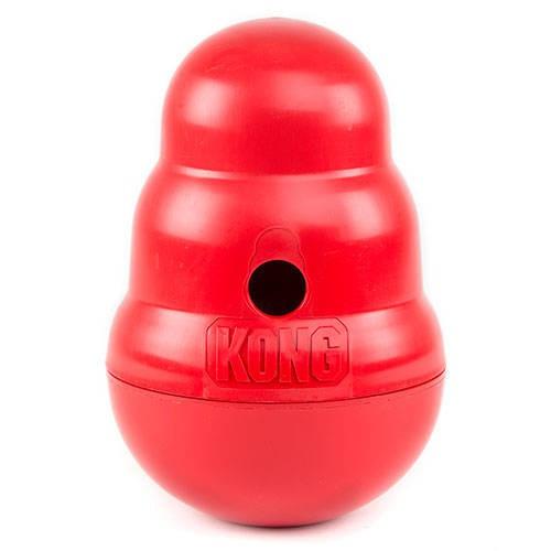 Kong Wobbler food dispenser for dogs