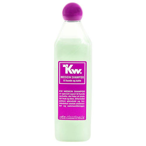 Kw Champú medicinal para problemas dermatológicos