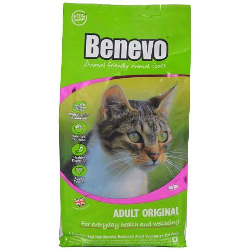 Benevo Gatos Pienso vegano para gatos Adulto