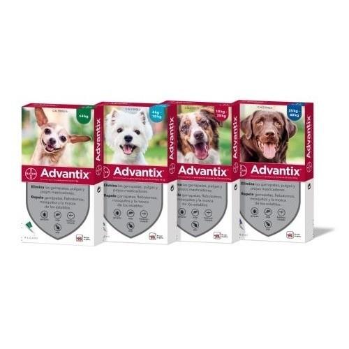 Advantix Pipetas triple protección antiparasitaria para perros
