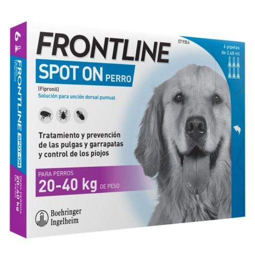 Frontline Spot On perros 20-40 kg protección total