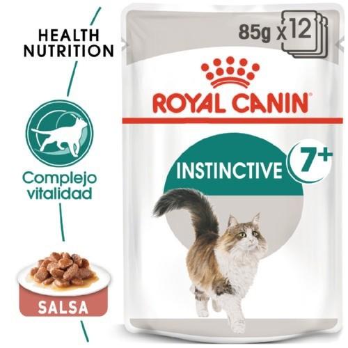 Royal Canin Instinctive 7+ comida húmeda para gato sénior en salsa