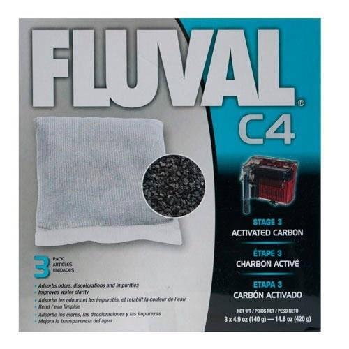 Carbón activado para filtro mochila Fluval C