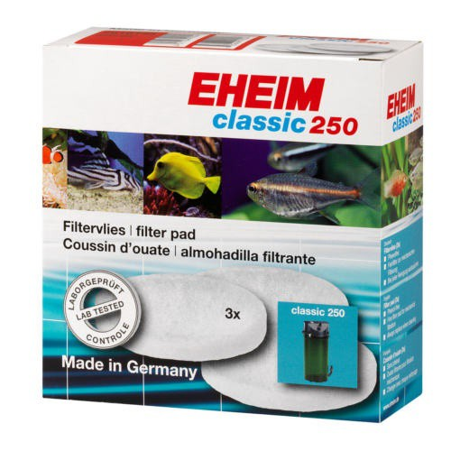 Fine filter pad white for Eheim Classic