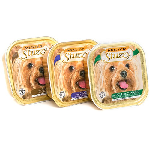 Mister Stuzzy Dog Paté para perros calidad extra 300 gr