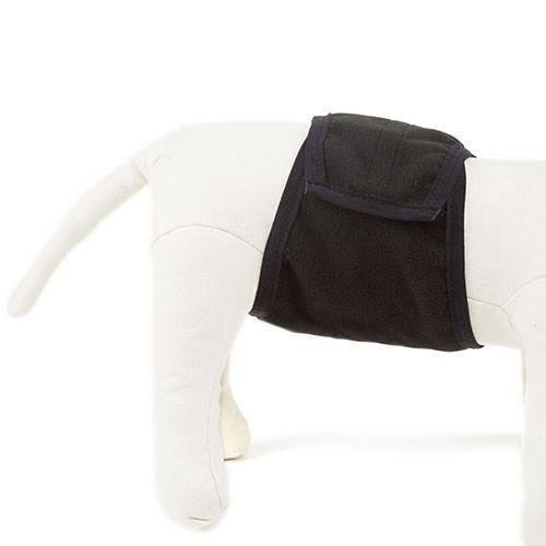 Pañal fajín especial lavable para perros machos