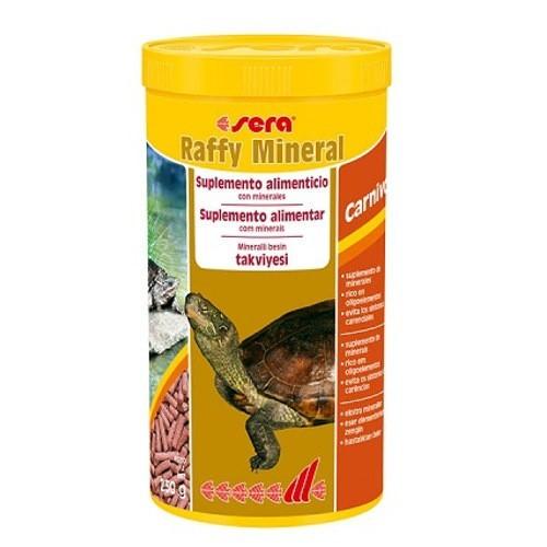 Alimento energetico tortugas y reptiles SERA raffy Mineral