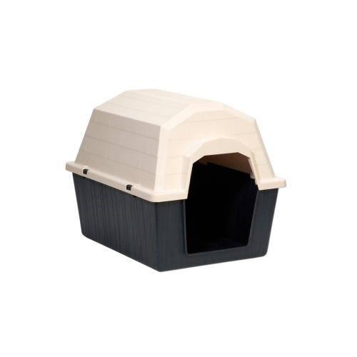 Barnhome Caseta de plástico para perros