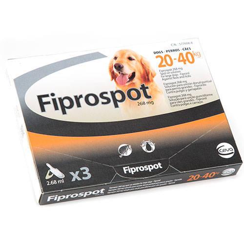 Pipeta Fiprospot antiparasitario para perros 20-40 Kg